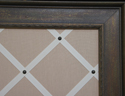 framed bulletin boards with upgrade for memory boards with ribbon