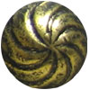 Antique Gold Swirl Memory Board Brads