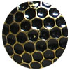 Antique Gold Honeycomb Memory Board Brads