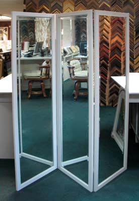 Custom Three Panel Mirrors Made To Your Size
