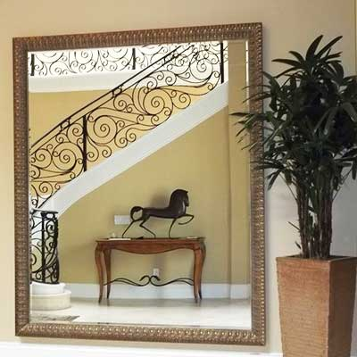 Visit our custom mirror headquarters - hundreds of options for style and price