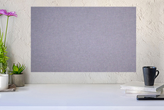 A Wonderful Accent For Any Room In Your Home - Stylish Textured Fabric Bulletin Boards In Over 50 Colors