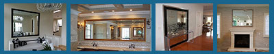 Every frame can make any type of mirror - very small to very large - wall mirror, floor mirror or bathroom mirror
