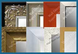 Custom Wall Mirrors by Color