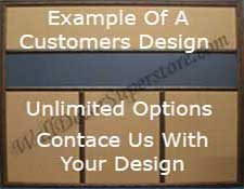 Custom Combination Boards Using Customers Design