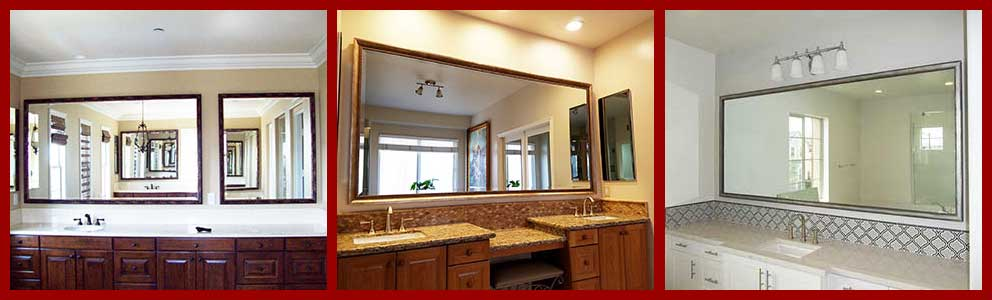 Custom Bathroom Mirrors - We Make Any Size