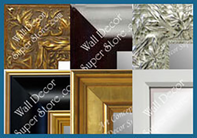 shop custom mirrors by style - traditional, high gloss, ornate, contemporary and more