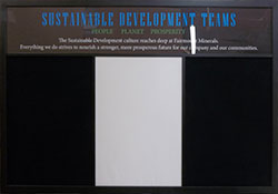 Custom combination chalkboards - with french bulletin board