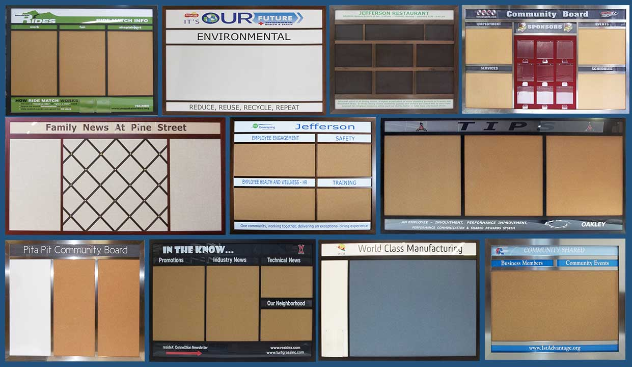 Every frame can make any style - select frame - then select type of wallboard - 