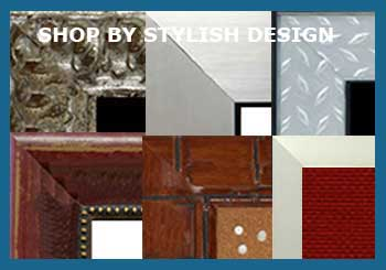 custom wallboards with stylish frames - contemporary, tropical, decorative and more
