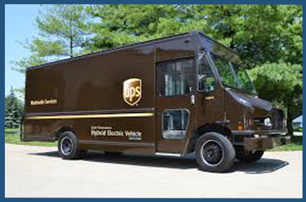 We use UPS ground shipping. You may contact UPS for tracking status.
