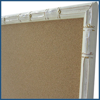 Use this menu to build a custom cork bulletin board in any size - natural self healing cork - choose style and price and color