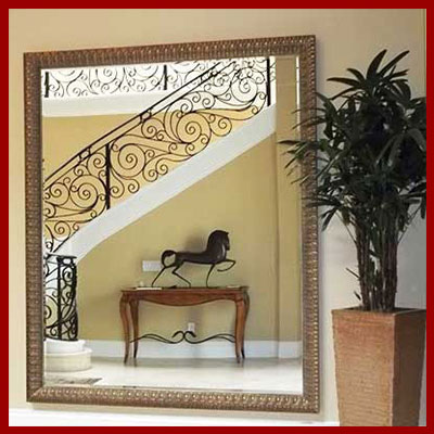 Visit our custom mirror headquarters menu - hundreds of options for style and price