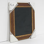 WSCK-271 20 x 24 Ornate Gold Frame, Traditonal Chalk board