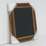 WSCK-287 15 x 18 Ornate Gold Frame Magnetic Chalkboard