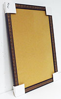 WSCO-262 Distressed Bronze Square 24 x 36 Natural Self Healing Cork Board