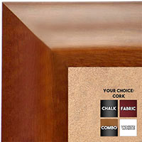 BB1420-1 Classic Cherry  Medium To Extra Large Custom Cork Chalk Or Dry Erase Board