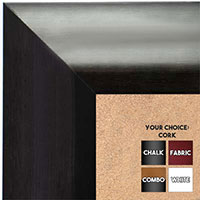 BB1420-3 Classic Gray  Medium To Extra Large Custom Cork Chalk Or Dry Erase Board