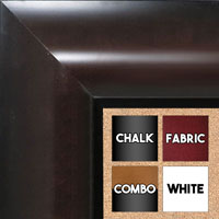 BB1518-1 Espresso Coffee Brown Extra Extra Large Wall Board Cork Chalk Dry Erase
