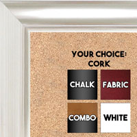 BB1520-10 Silver Large Wall Board Cork Chalk Dry Erase
