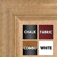 BB1521-7 Antique French Gold Large Wall Board Cork Chalk Dry Erase