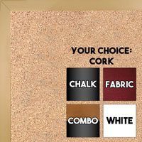 BB1540-19 Thin Metal Purple Plum Custom Cork Chalk or Dry Erase Board Small To Large