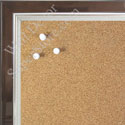 BB1560-4 Pearlized Chocolate With Silver Lip Small To Medium Custom Cork Chalk or Dry Erase Board
