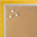 BB1560-5 Pearlized Mustard With Silver Lip Small To Medium Custom Cork Chalk or Dry Erase Board