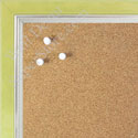 BB1560-8 Pearlized Lime With Silver Lip Small To Medium Custom Cork Chalk or Dry Erase Board