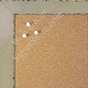 BB1566-1 Glossy Distressed Ivory - Medium Custom Cork Chalk or Dry Erase Board