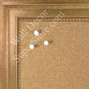 BB1576-1 Antique Gold - Large Wall Board Cork Chalk Dry Erase