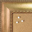BB1579-1 Antique Gold - Extra Large Chalkboard Cork Dry Erase