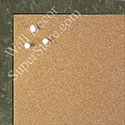 BB1581-5 Glossy Gray Burlwood Look - Small Custom Cork Chalk or Dry Erase Board