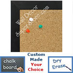 BB1617-5   Brushed Matte Black | Aluminum | Wallboard Corkboard Whiteboard Chalkboard