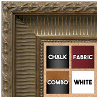 BB1626-1 | Dark Antique Silver | Custom Cork Bulletin Board | Custom White Dry Erase Board | Custom Chalk Board