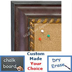 BB1635-3  Distressed Red | Custom Cork Bulletin Board | Custom White Dry Erase Board | Custom Chalk Board