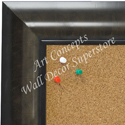 BB1675-5 | Charcoal Gray | Custom Cork Bulletin Board | Custom White Dry Erase Board | Custom Chalk Board