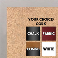 BB1543-10 Whitewash - 3/4 Inch Wide X 3/4 Inch High - Small Custom Cork Chalk Dry Erase