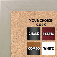 BB1844-10 White Wash Large Wall Board Cork Chalk Dry Erase