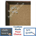 BB6223-3 Bronze Small Custom Cork Chalk or Dry Erase Board