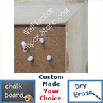 Assorted Wood Finish  - Cork, Chalk, Dry Erase Boards