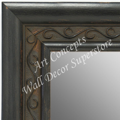 Mr1698 2 Espresso Black With Distressed Aged Look Extra