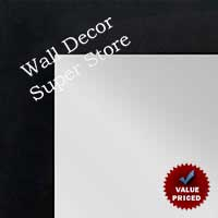 WM100-1 Black Frame Value Price Three Panel Wardrobe Dressing Mirror