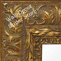 MR170-1   Ornate Wide Gold Frame - Extra Large Custom Wall Mirror Custom Floor Mirror