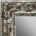 MR1416-1 Ornate Distressed Silver - Large Custom Wall Mirror Custom Floor Mirror