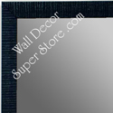 MR1430-6 Blue - Very Small Custom Wall Mirror