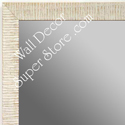 MR1430-7 White - Very Small Custom Wall Mirror