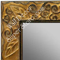 MR1471-2 Antique Gold With Leaf And Vine Design - Large Custom Wall Mirror Custom Floor Mirror