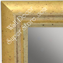 MR1477-2 Champagne Gold With Pale Silver - Large Custom Wall Mirror Custom Floor Mirror