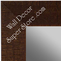 MR1484-1 Brown - Large Custom Wall Mirror Custom Floor Mirror
